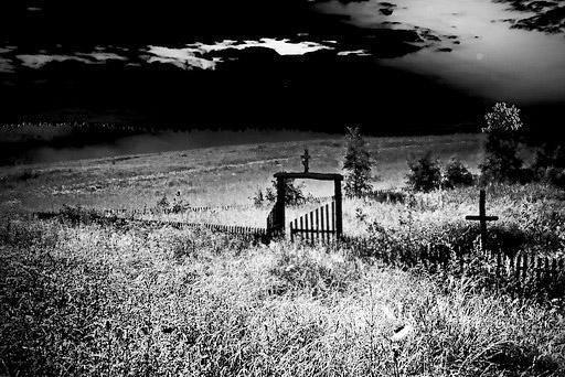 Последние жители мертвой деревни